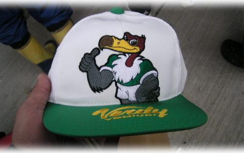Jリーグの帽子^^;