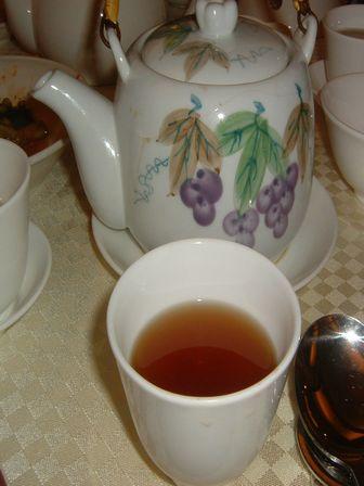 食後のお茶
