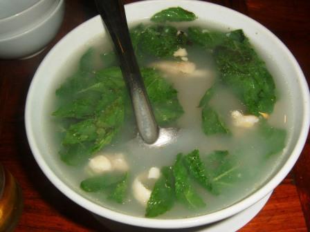 カンボジア風スープ