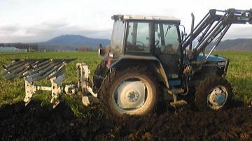 緑肥耕起横