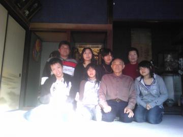 新春09家族集合写真