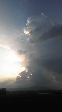 サホロ岳積乱雲4