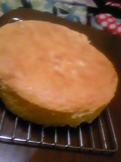 スポンジケーキ♪