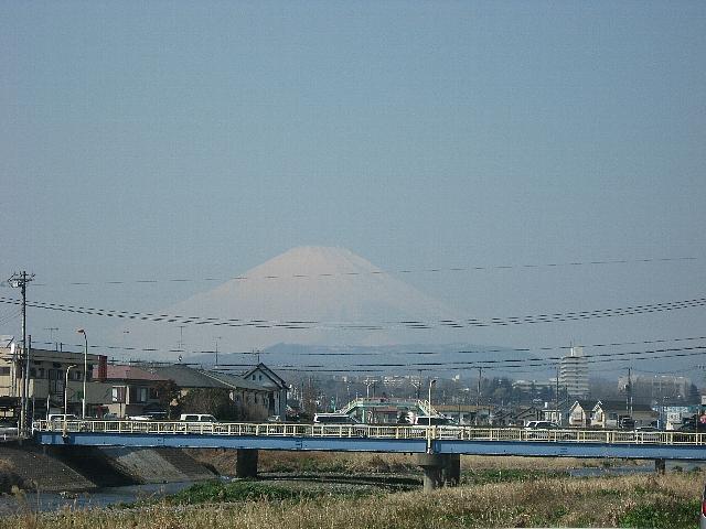 雪化粧な富士山