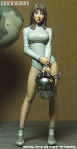 傭兵軍宇宙女性パイロット1