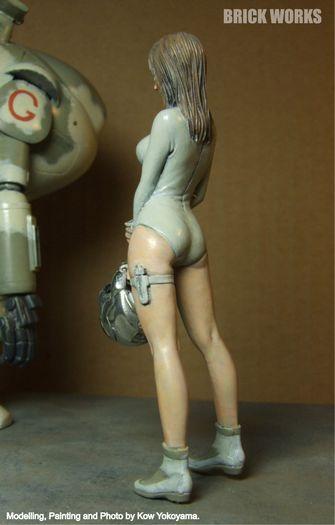 傭兵軍宇宙女性パイロット3
