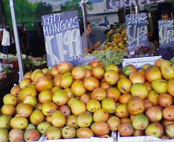 ラスティーズマーケットのマンゴー