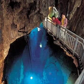 龍泉洞は心のオアシス