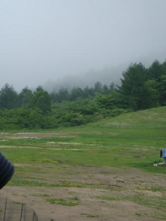 段々霧が晴れてきます。