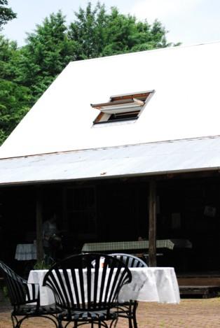 きれいになった屋根。
