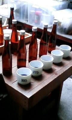 白鴻利き酒