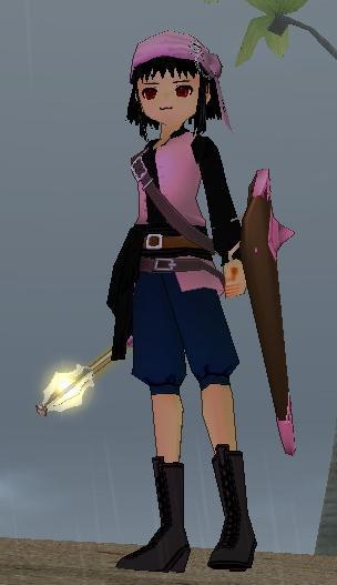 苺専用海賊服