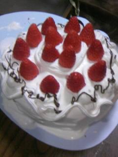 クリスマスケーキ家1