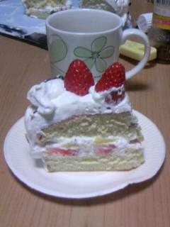 クリスマスケーキ家2