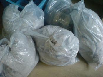 カーテン ゴミ袋