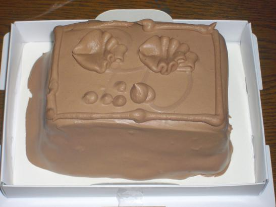 誕生日ケーキ2010