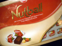 お土産のチョコレート