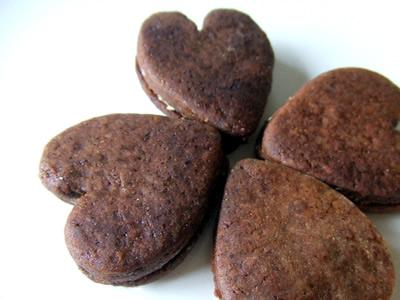 ホワイトチョコサンドクッキー