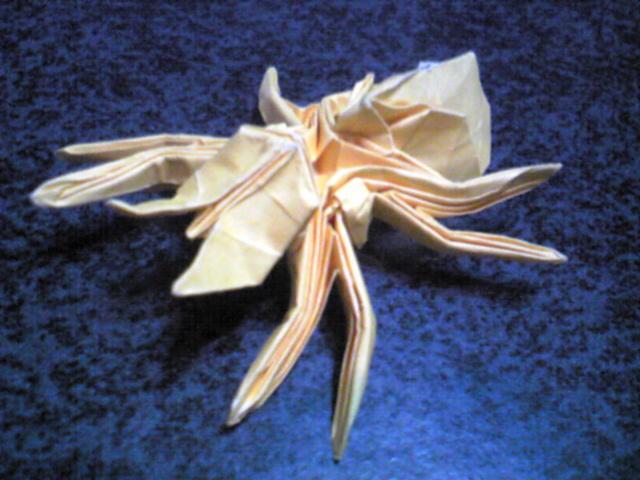 簡単 折り紙 折り紙 蜘蛛 : ikinukinoorigami.blog88.fc2.com