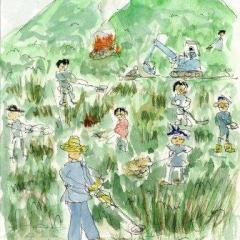 大草刈りイベント