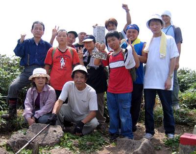 大日岳登山