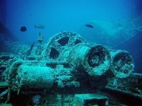 紅海で沈没したイギリスの軍用貨物船ティスルゴーム