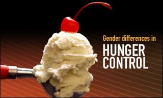 Control Your Hunger? Study Shows Men Can, Women Can't