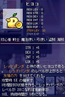 レッドパンダのアクセ