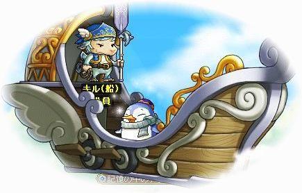 船とペンギン