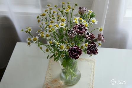 マトカリア花瓶IMG_6853