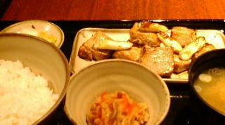 新宿 定食