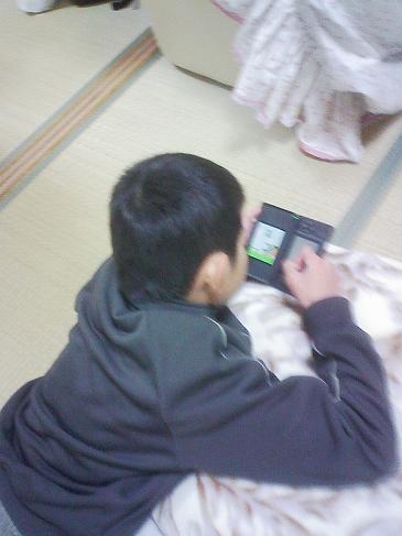 ゲーム漬け・・・
