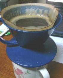 コーヒーフィルターの限界!
