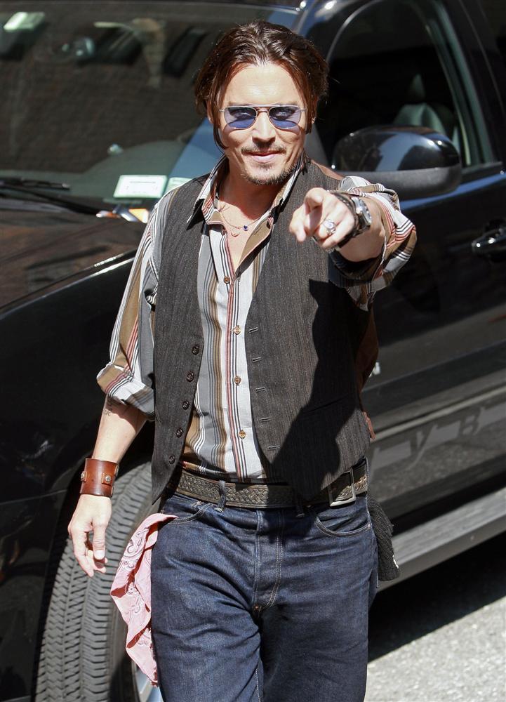 このジーンズ、本物の気配プンプンですけどね ジョニーデップ リーバイス
