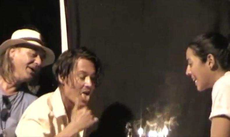 johnnydepp tart タートオプティカル ジョニーデップ 誕生日 アーネル べっ甲サングラス