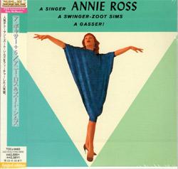 Annie Ross : A Gasser!
