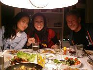 タイ、デンマーク、韓国系デン人、日デンミックス、タイ&デンミックスの楽しいパーチーでした!