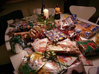 プレゼントがいっぱい