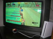 """我が家にもようやく""""Wii""""登場(笑)。"""