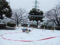 雪を走る②