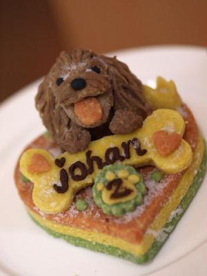 2歳のBirth.ケーキ