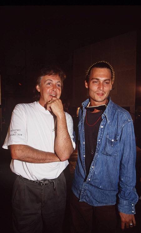 ジョニー&ポールマッカートニー
