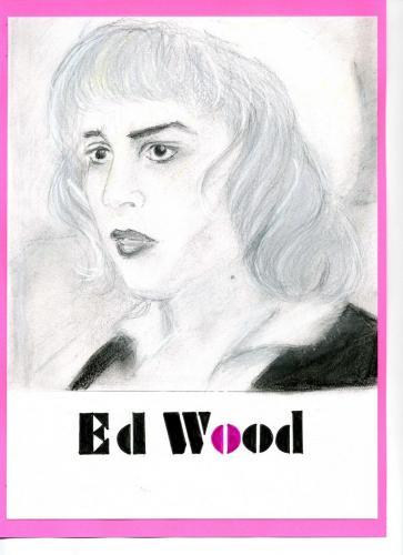 Ed Wood・パステル画
