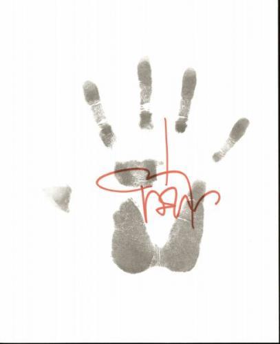 ジョニーの手形