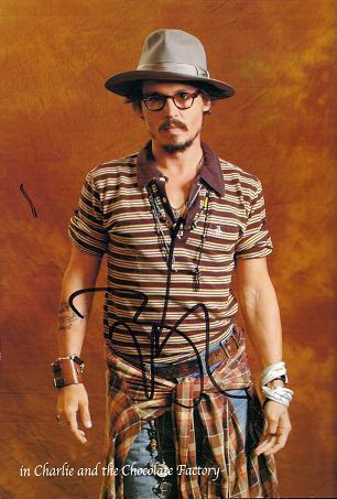 ジョニーのサイン