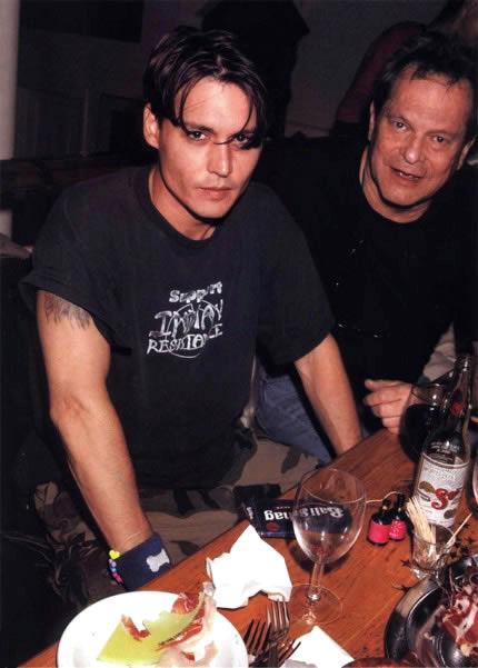 ジョニーとギリアム監督