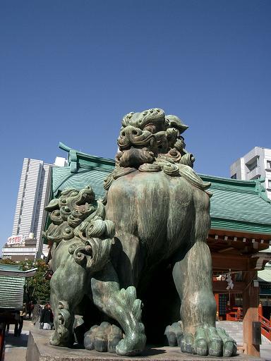 水天宮狛犬2