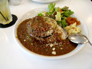 茄子と挽肉のカレー