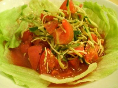 らーめん一・米粉トマト麺01