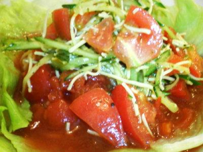 ラーメン一・米粉トマト麺02